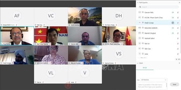 Vietnam, India step up trade ties hinh anh 1