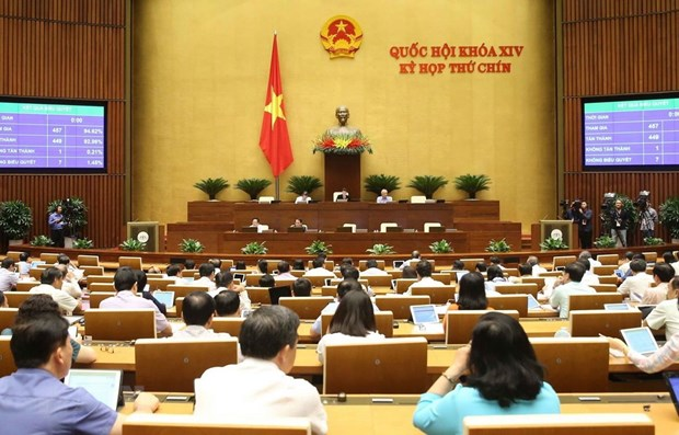 Law amending, supplementing Issuance of Legal Documents Law passed hinh anh 1