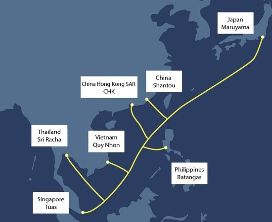 Thailand to build 9,400-km international undersea cable hinh anh 1