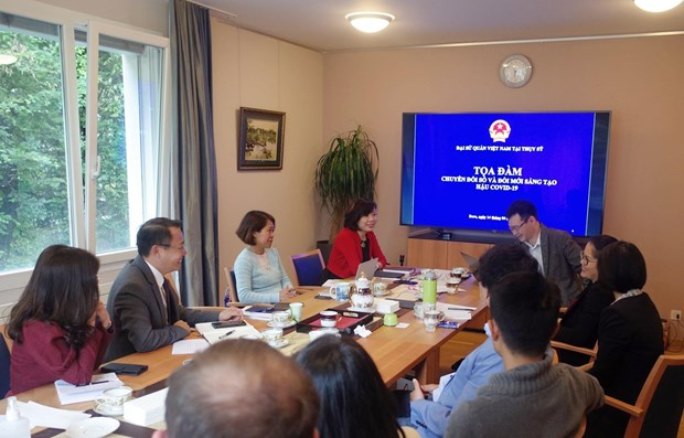 Potential for Vietnam-Switzerland cooperation in digital transformation: experts hinh anh 1