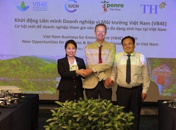 Vietnam alliance of business for environment launched hinh anh 1