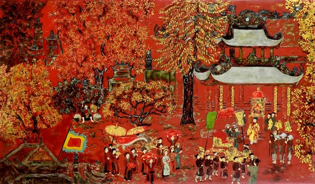Vietnamese artworks to be auctioned online hinh anh 1