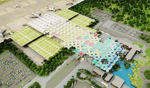 Master plan for Cambodia's largest airport revealed hinh anh 1