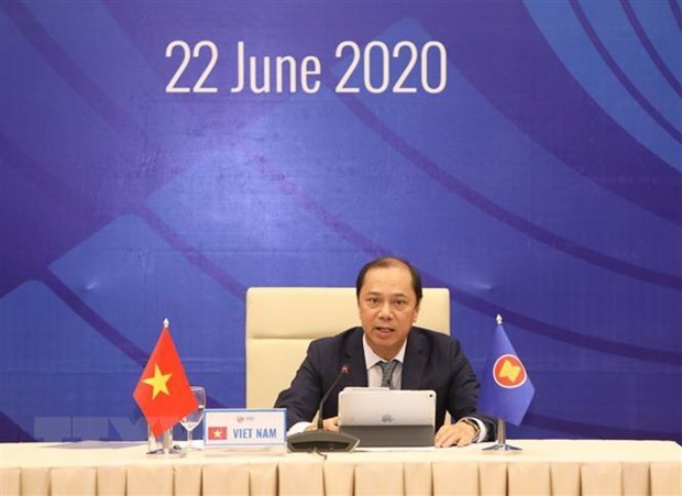 Online PREP-SOM prepares for 36th ASEAN Summit hinh anh 1