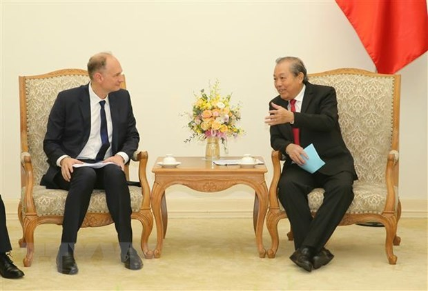 Deputy PM: Vietnam wants to develop supply chain hinh anh 1