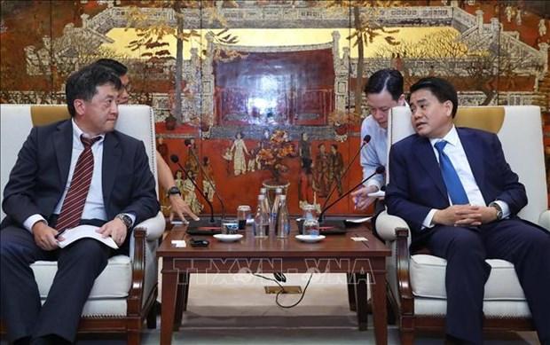 Hanoi, JICA work to ensure projects' progress hinh anh 1