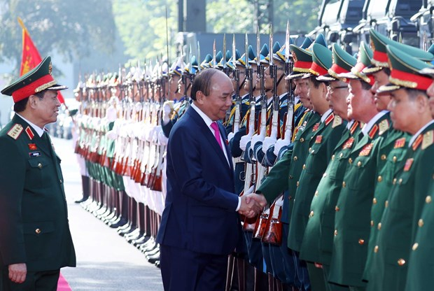 Prime Minister attends 10th army emulation congress hinh anh 1