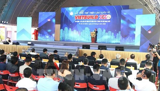 Vietbuild 2020 kicks off in HCM City hinh anh 1