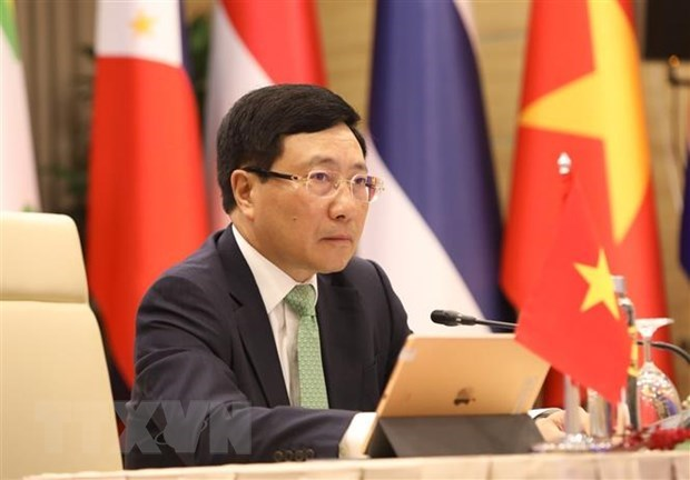 Message by Deputy PM-Foreign Minister Pham Binh Minh to Second Berlin Climate and Security Conference hinh anh 1
