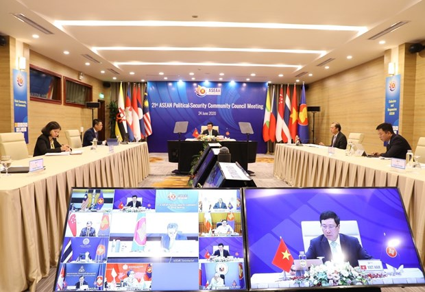 ASEAN 2020: Youth cooperation helps tighten links within ASEAN Community hinh anh 1