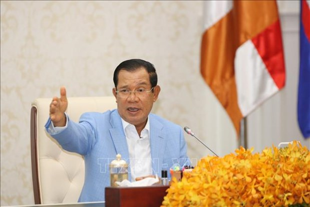 Cambodian PM urges ASEAN to take advantages of COVID-19-related opportunities hinh anh 1