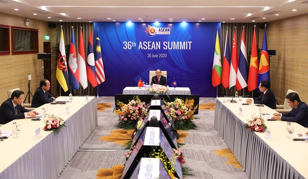 Chairman's Statement of 36th ASEAN Summit hinh anh 1