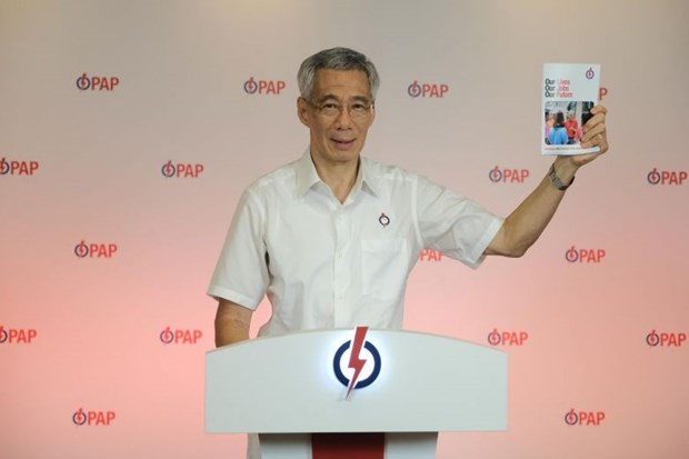 Singapore: PAP's manifesto focuses on fighting COVID-19 hinh anh 1