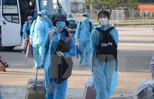 Vietnam records no COVID-19 infections in community for 73 days hinh anh 1