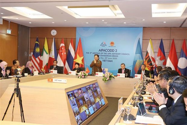 AIPA advisory council meets to reinforce cooperation in drug fight hinh anh 1