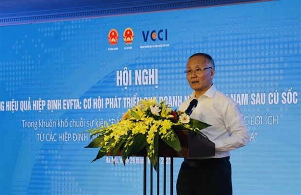 Conference seeks to help businesses accelerate post-pandemic development hinh anh 1