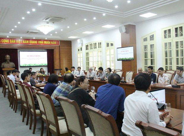 Drawing contest on environmental protection launched hinh anh 1