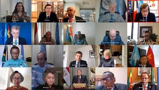 UN Security Council discusses Grand Ethiopian Renaissance Dam hinh anh 1