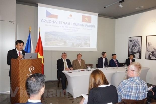 Vietnam, Czech Republic step up tourism cooperation hinh anh 1
