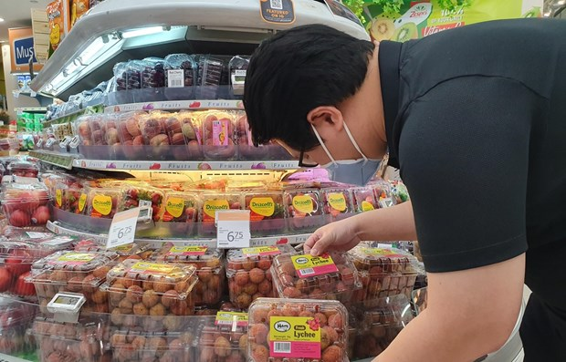 Vietnamese lychees hit shelves in Singapore hinh anh 1