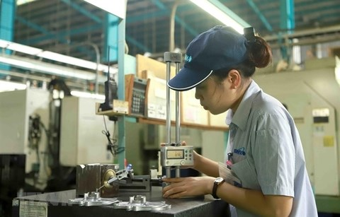 Manufacturing output returns to growth in June hinh anh 1