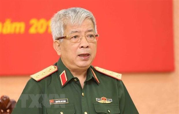 Vietnam, US intensify exchange of experience in peacekeeping activities hinh anh 1