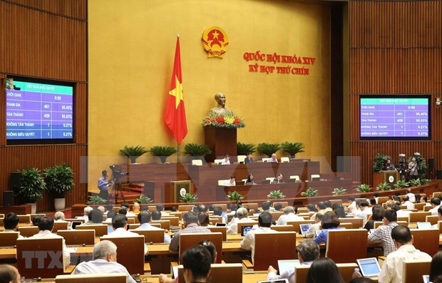 National Assembly issues resolutions on ratification of EVFTA, EVIPA hinh anh 1