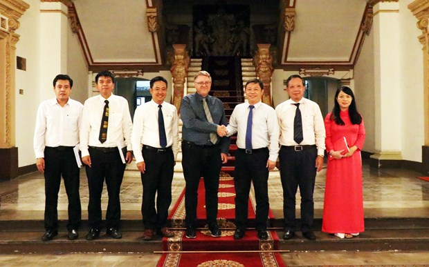 HCM City boosts cooperation with Denmark hinh anh 1