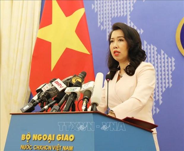 Vietnam, Cambodia resolve to prevent community spread of COVID-19: spokesperson hinh anh 1