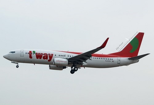 T'way Air to re-open HCM City - Incheon flights hinh anh 1