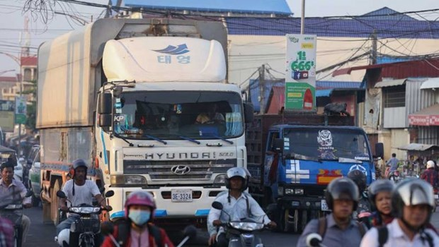 Chinese firm to carry out 160-mln-USD logistics project in Cambodian capital hinh anh 1