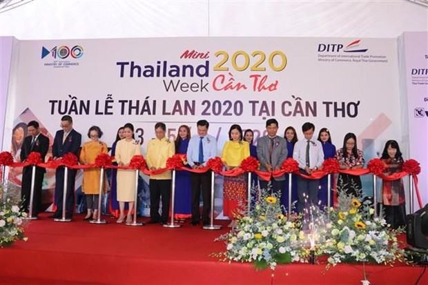 Mini Thailand Week 2020 opens in Can Tho hinh anh 1