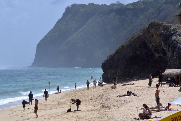 Foreign tourists to Indonesia plunge nearly 90 percent due to COVID-19 hinh anh 1