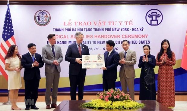 Hanoi-US cooperation milestones hinh anh 1