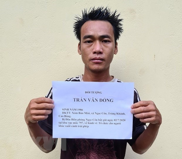 Three arrested for illegally sending people abroad hinh anh 1