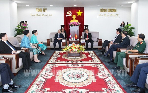 Binh Duong, Lao provinces boost ties hinh anh 1