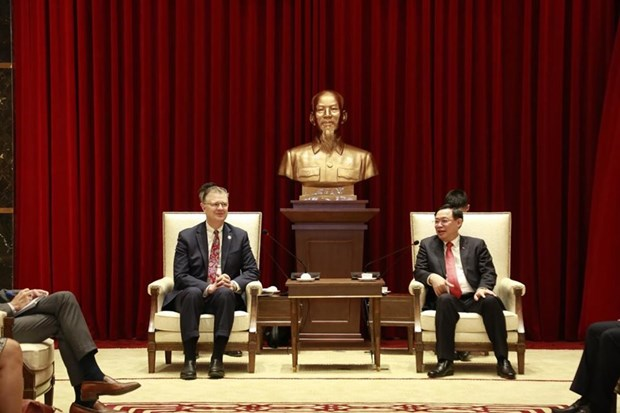 Hanoi eyes stronger cooperation with US localities hinh anh 1