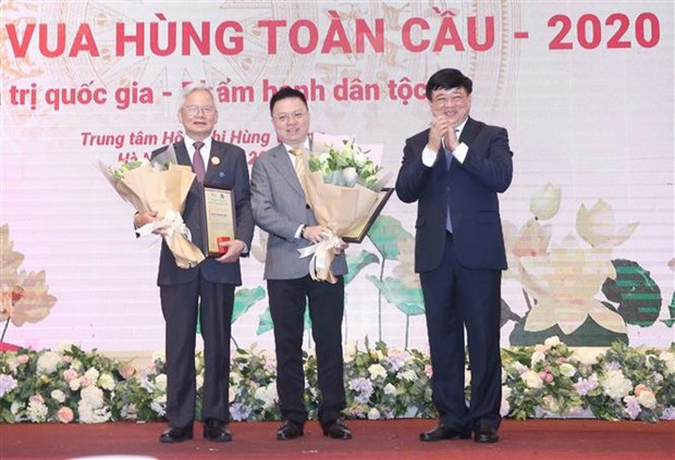 Winners of Vietnam Ancestral Global Day Contest honoured hinh anh 1