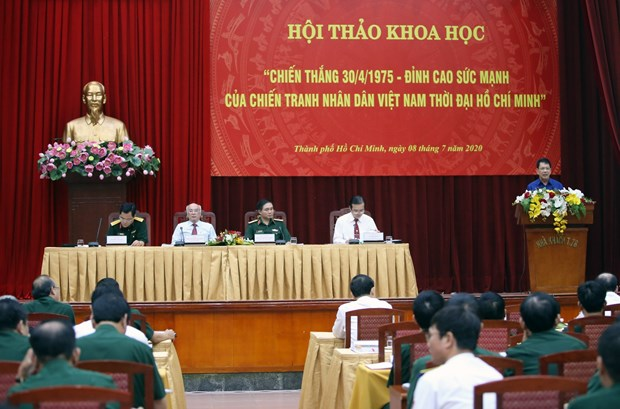 April 30 victory manifests Vietnamese people's power: Symposium hinh anh 1