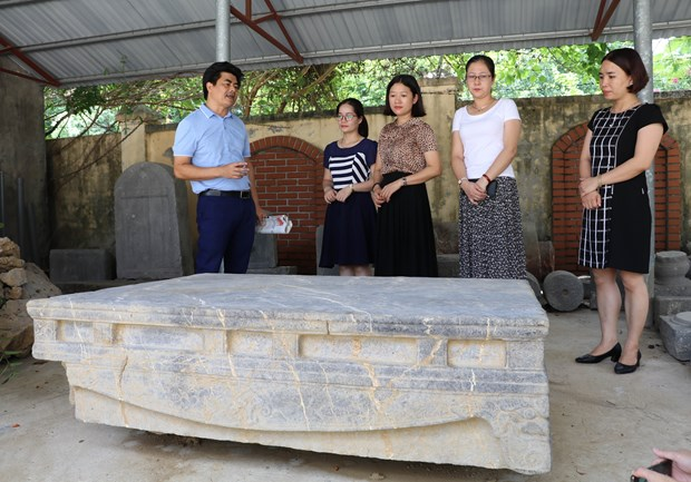 Ancient rock bed found in Ninh Binh province hinh anh 1