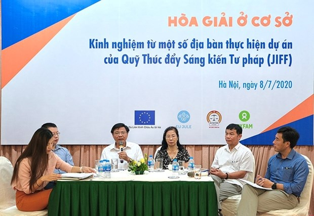 Mediation at grassroots level under discussion hinh anh 1