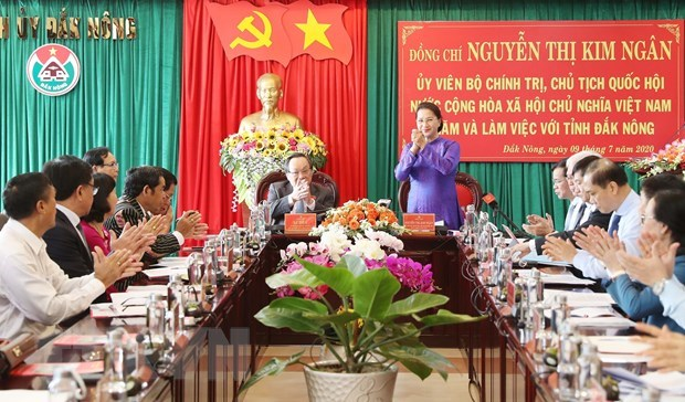 Investment attraction key to Dak Nong's development: NA Chairwoman hinh anh 1