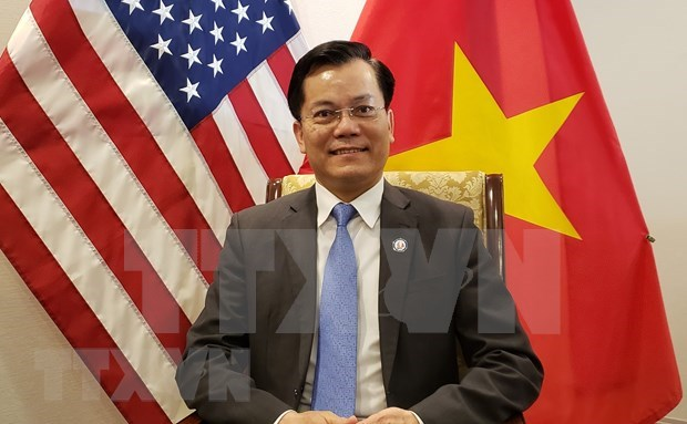 Vietnam-US relations at level no one could imagine 25 years ago: Ambassador hinh anh 1
