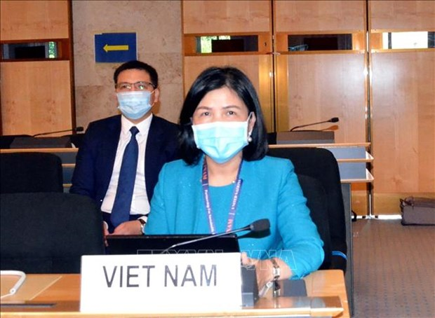UN Human Rights Council talks about rights of people with disabilities amid climate change hinh anh 1