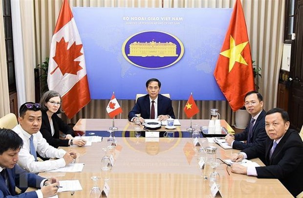 Vietnam, Canada hold deputy foreign ministerial-level political consultation hinh anh 1