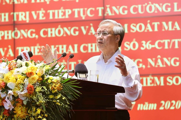 Anti-drug fight needs synchronous, drastic efforts: Party official hinh anh 1