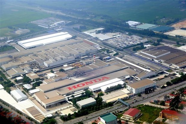 Honda Vietnam's motorcycle sales down, auto sales up in June hinh anh 1