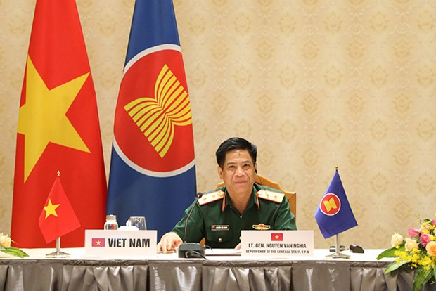 Vietnam joins virtual ASEAN Chiefs of Army Multilateral Meeting hinh anh 2
