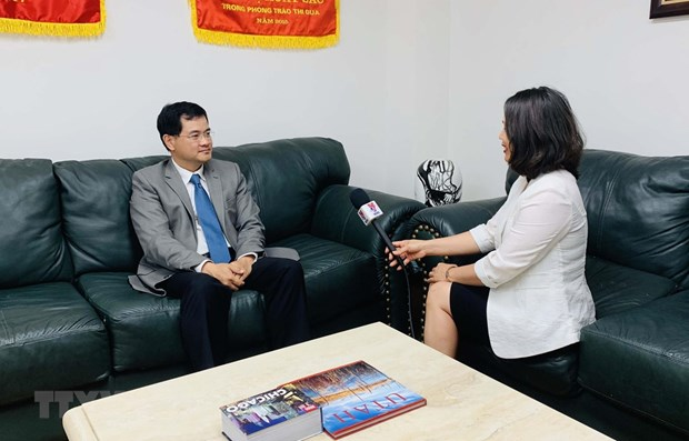 Vietnam, US making strides forward in economic, trade relations hinh anh 1