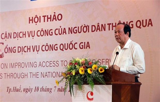 Workshop seeks measures to improve access to e-public services hinh anh 1